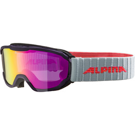 Alpina Pheos MM Goggles Kinderen, purple pink